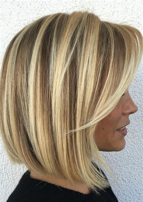 blonde above shoulder french hair 70 devastatingly cool haircuts for thin hair thin hair