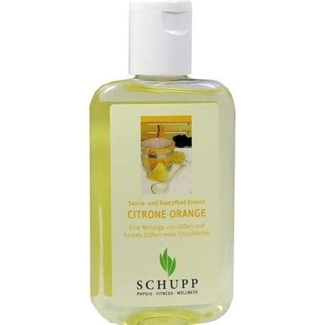 schupp gmbh sauna essenz citrone orange 200ml bodfeld apotheke