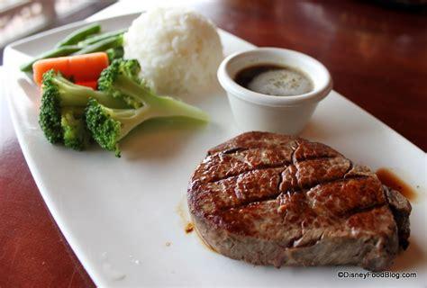 filet mignon menu review tokyo dining in epcot s japan the disney food blog