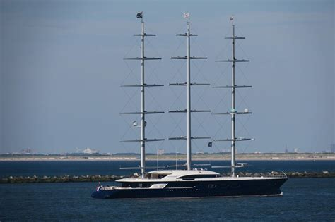 sailing boat with 3 masts black pearl features 3 rotating masts steel hull and