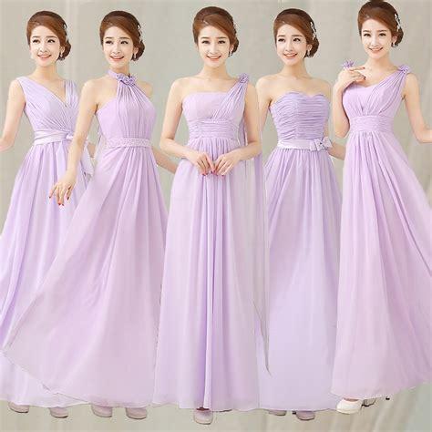 cheap bridesmaid dresses 50 liliac light purple sleeveless chiffon bridesmaid prom