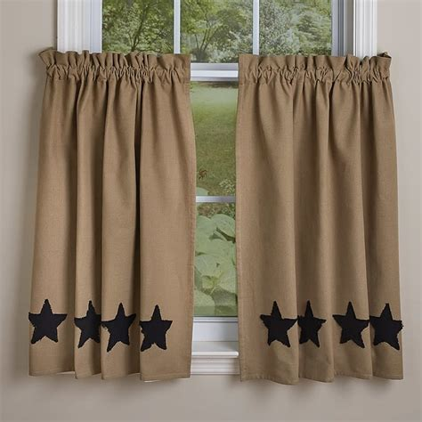 black and taupe curtains black taupe star lined curtain tiers 72 quot x 36 quot