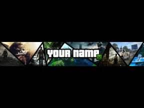 speedart template banner multi gaming photoshop youtube