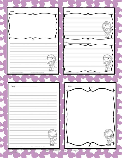 printable lined paper for mother s day mothers day writing paper for kindergarten