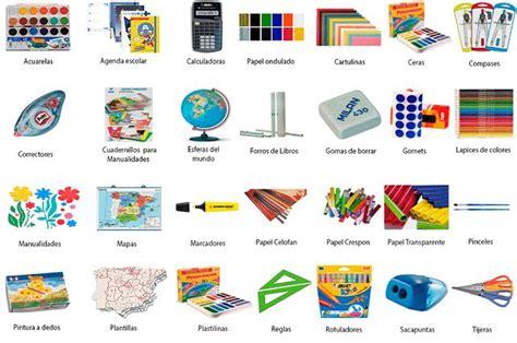 imagenes de utiles escolares con los nombres en ingles nombres de objetos escolares en ingl 233 s imagui