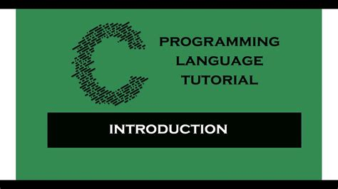 tutorial c programming 1 basic c c programming tutorial tamil youtube