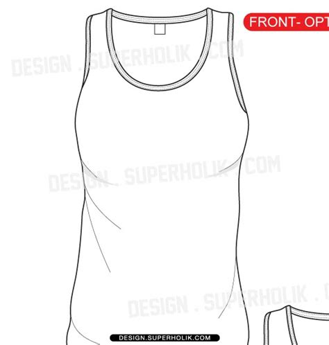 tank top design template fashion design templates vector illustrations and clip