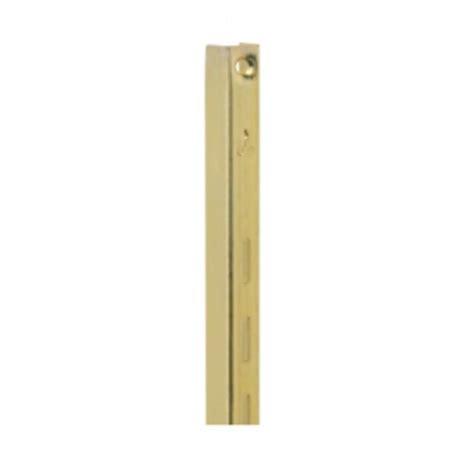 shelving hardware kv 80 standards brass 72 quot shopping