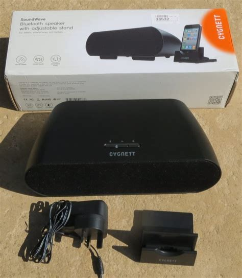 Jvcs Dock Stand Because They Could by Cygnett Soundwave Bluetooth Speaker With Dock Review