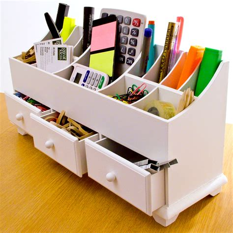Tidy Desk by Desk Tidy For Smart Table Organization