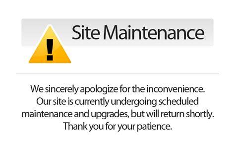 maintenance mode html template site maintenance