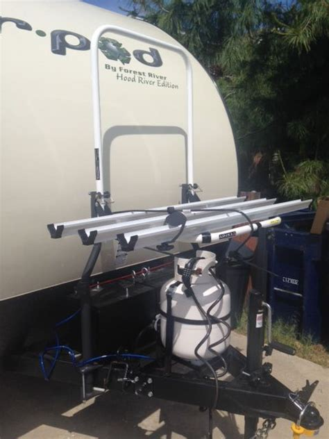 Bike Rack For Back Of Travel Trailer by Top 25 Best Rv Bike Rack Ideas On Travel