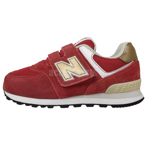 velcro running shoes new balance kv574cny w suede gold 2015 velcro
