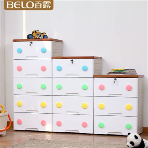 Wardrobe For Baby by Buy One Hundred Dew Plastic Drawer Storage Cabinets