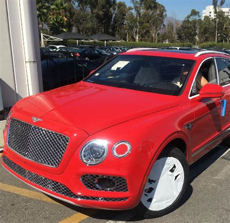 the bentley truck photos rapper the buys a 2016 bentley