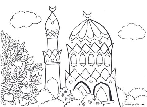 Coloring Pages Islamic | islamic word colouring pages 288221 islamic coloring pages