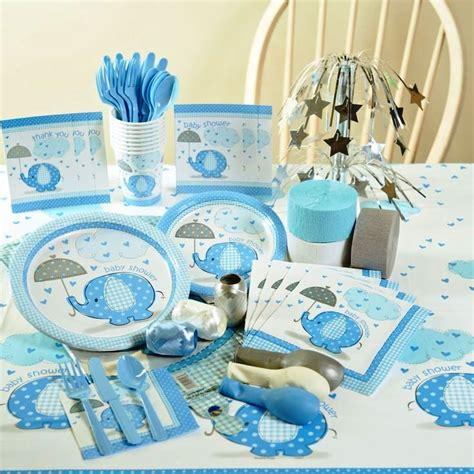 Baby Boy Shower Tableware by Baby Shower Tableware