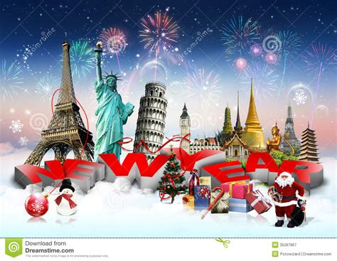 new year 2018 vacation period happy new year concept stock image image of europe