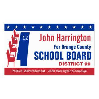 business cards for political candidates 1000 images about school board flyer on school themes direct mail and ea