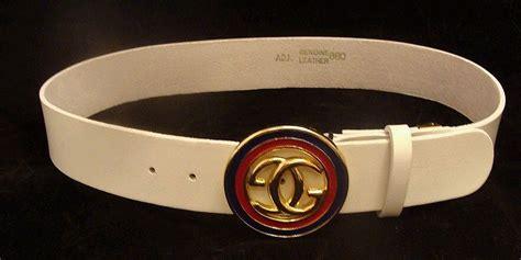 m logo designer belt white leather gucci designer logo belt from rlreproshop on ruby