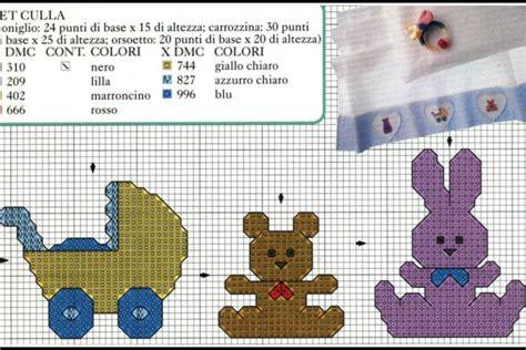 schemi punto croce lenzuolino culla gratis schemi lenzuolini punto croce da scaricare