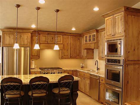 knotty alder cabinets kitchen lec cabinets rustic