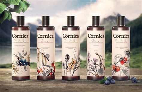 Organic Handmade Cosmetics - cornica 174 cosmetic the dieline packaging