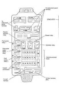 2003 Mitsubishi Lancer Fuse Box Diagram 11 Ford Taurus Fuse Box Get Free Image About Wiring Diagram