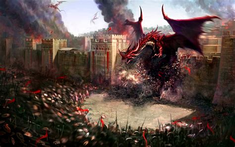 Dragons Images Attack Hd Wallpaper by Dungeons And Dragons Jdl Reflections