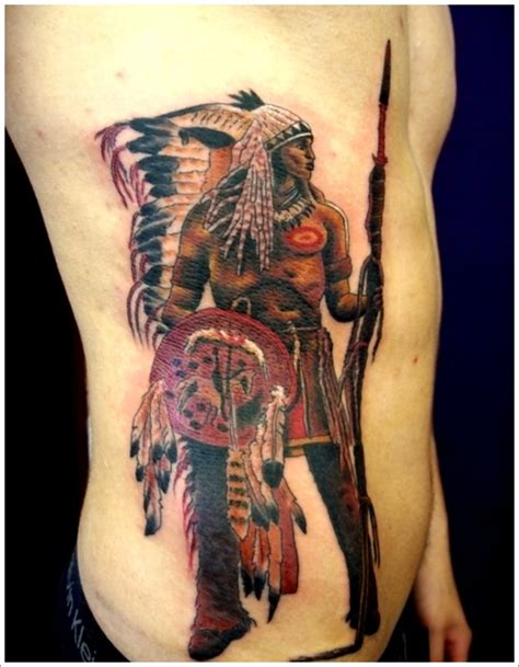 native american tattoos for men 40 american designs that make you proud