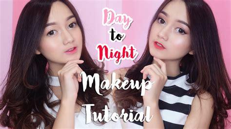 tutorial makeup nanda arsyinta day to night makeup tutorial and maybelline rosy vivid