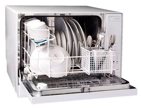Best Apartment Dishwasher Haier 4 Place Setting Table Top Dishwasher Portable