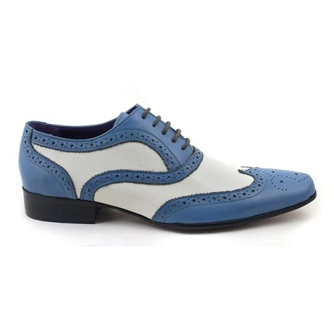 blue and white oxford shoes blue and white oxford shoes 28 images bolano mens wing