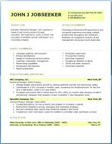 Professional Resume Design Templates by Professional Resume Templates Sle Free Sles