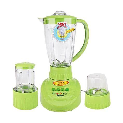 Blender Miyako Hijau jual miyako bl152 pf ap 3in1 blender hijau 1 5 l harga kualitas terjamin blibli