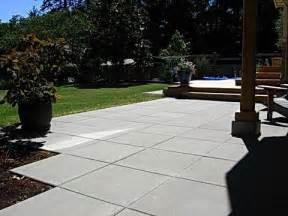 Large Paver Patio Square Pavers Patio Backyard Patio Deck Ideas