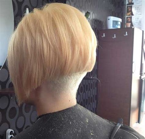 bob haircut with shaved nape part 15 cool shaved nape bob haircuts bob hairstyles 2017
