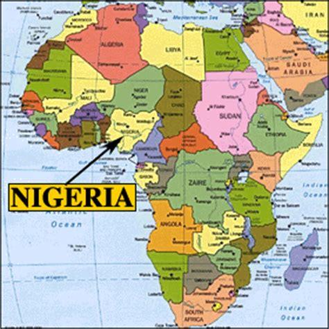 nigeria africa map caroline in nigeria