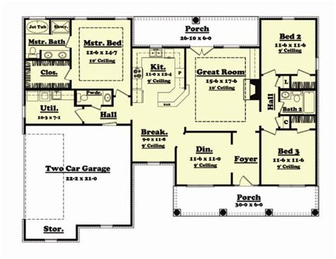 house plans 1700 sq ft 1700 sq ft house plan jasper 17 001 315 from planhouse home plans house plans