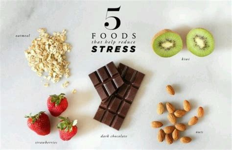 7 Best Foods For Stress Relief by Stress Relief Foods Helpful