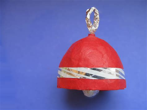 How To Make A Paper Bell - how to make a paper mache bell from a lemon