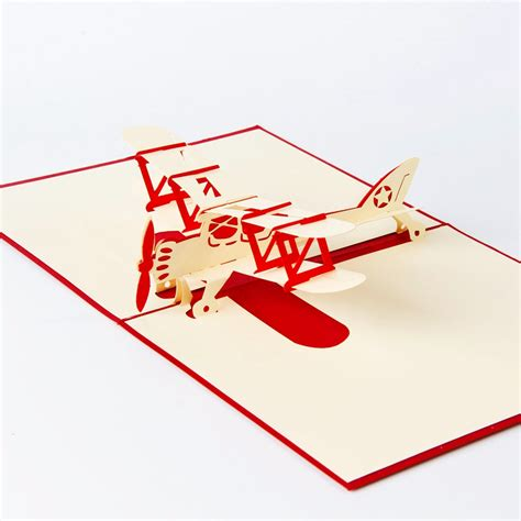 3d airplane card template 10pcs airplane model 3d laser cut pop up blank