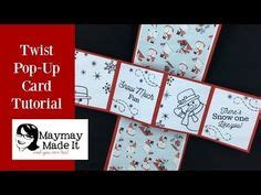 twisting pop up card template free how to make a twist and pop card 4 quot x12 quot card base scored