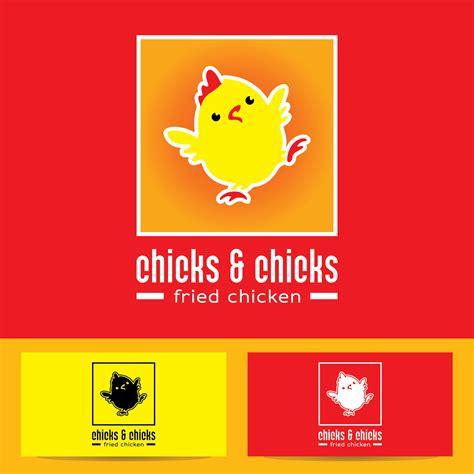 desain gerobak fried chicken sribu logo design desain logo untuk fried chicken
