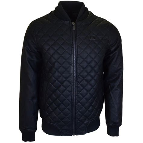 Voi Quilted Jacket Mens by Voi Collins Quilted Zip Black Jacket Voi