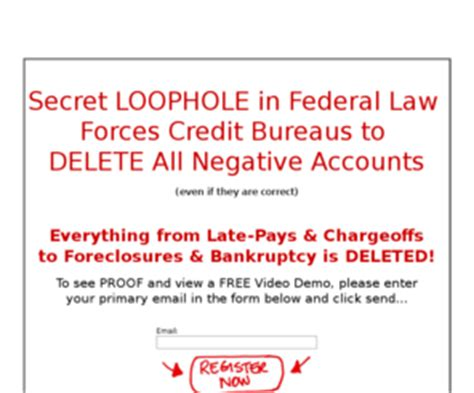 Clean Credit Report Letter Cleancreditletter How To Delete Foreclosures And Bankrupty From Your Credit Report