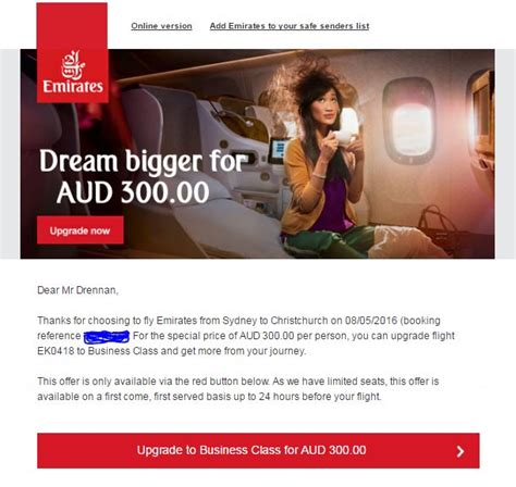 Emirates Upgrade Bid | my ultimate guide to getting airline upgraded travelupdate