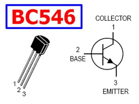 transistor bc546 datasheet bc546 datasheet 65v npn lifier transistor motorola