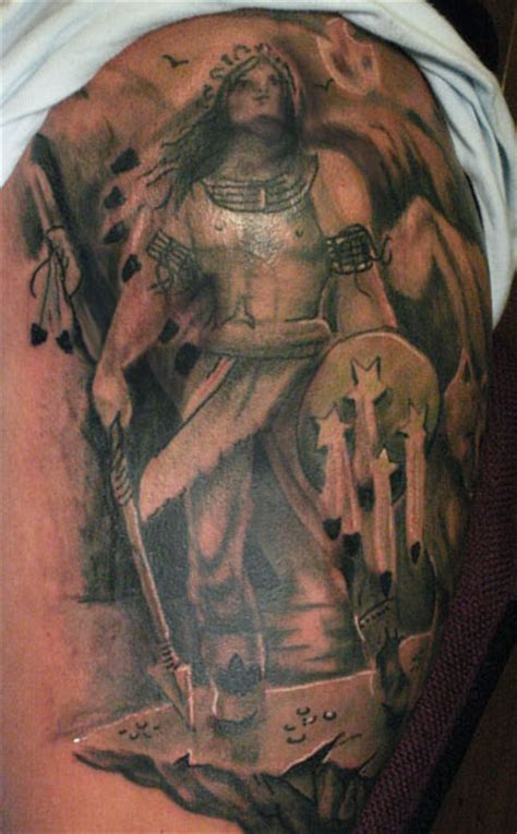 indian warrior tattoo designs warrior tattoos designs ideas and meaning tattoos for you