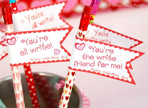 Come With Me Valentines Day Single Gal Soire Drinks by Free S Day Pencil Toppers Printables Press